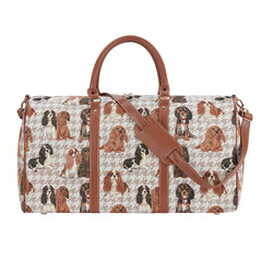 Cavalier King Charles Spaniel Big Holdall |  Tapestry Large Travel Luggage | BHOLD-KGCS