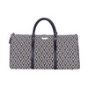 Luxor Big Holdall | Black and White Art Deco Large Holdall | BHOLD-LUXOR