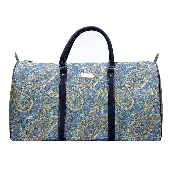 Paisley Big Holdall | Floral Tapestry Luggage Travel Trip Overnight Suitcase | BHOLD-PAIS