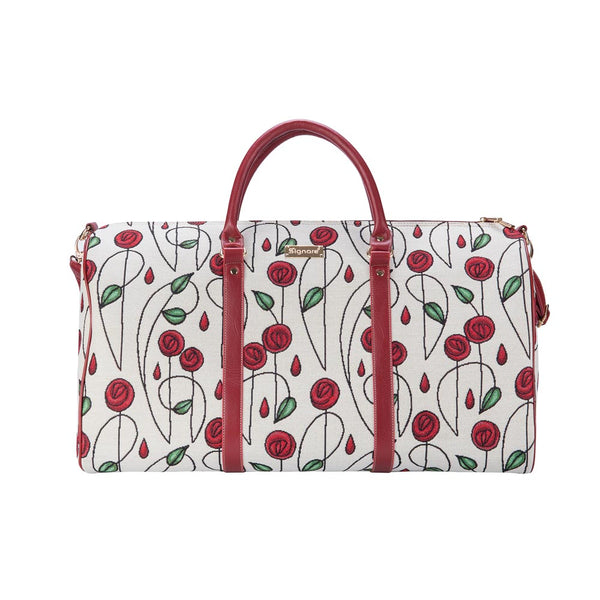 Mackintosh Simple Rose Big Holdall | Floral Travel Luggage | BHOLD-RMSP