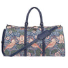 William Morris Strawberry Thief Blue Big Holdall | Floral Art Travel Weekender Luggage | BHOLD-STBL