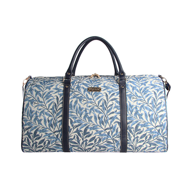 William Morris Willow Bough Big Holdall | Blue Tapestry Large Holdall | BHOLD-WIOW