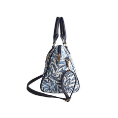 William Morris Willow Bough Bowler Bag | Floral Art Tapestry Handbag | BOWL-WIOW