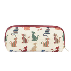 2021 S/S (New Arrival) Cheeky Cat Makeup Brush Bag | Cat Makeup Pouch | BRUBG-CHEKY