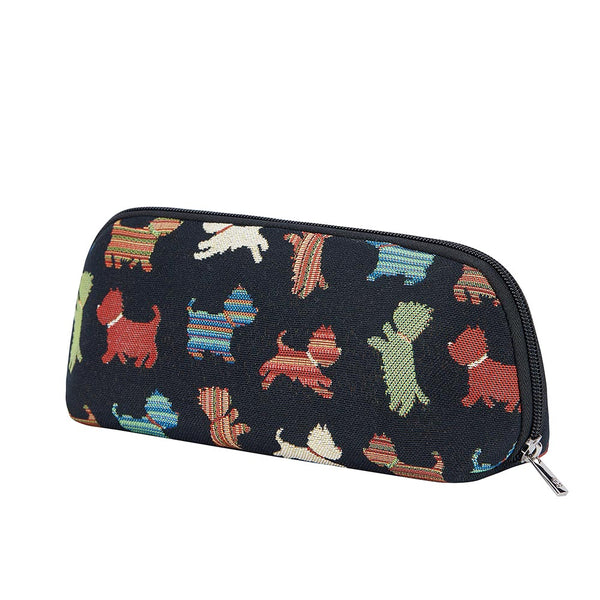 2021 S/S (New Arrival) Playful Puppy Makeup Brush Bag | Dog Cosmetic Pouch | BRUBG-PUPPY