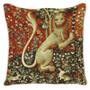 Lion Close Up from Lady and Unicorn Cushion Cover | Art Cushions 18x18 | CCOV-ART-LU-LION
