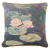 Claude Monet Water Lily Cushion Cover | Decorative Art Pillow 18x18 inch | CCOV-ART-MONET-2