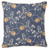 Jane Austen Blue Tapestry Cushion Cover | 18x18 Blue Cushion Covers | CCOV-AUST