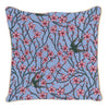 Almond Blossom and Swallow Tapestry Cushion Cover | Floral 18x18 Cushion Covers | CCOV-BLOS