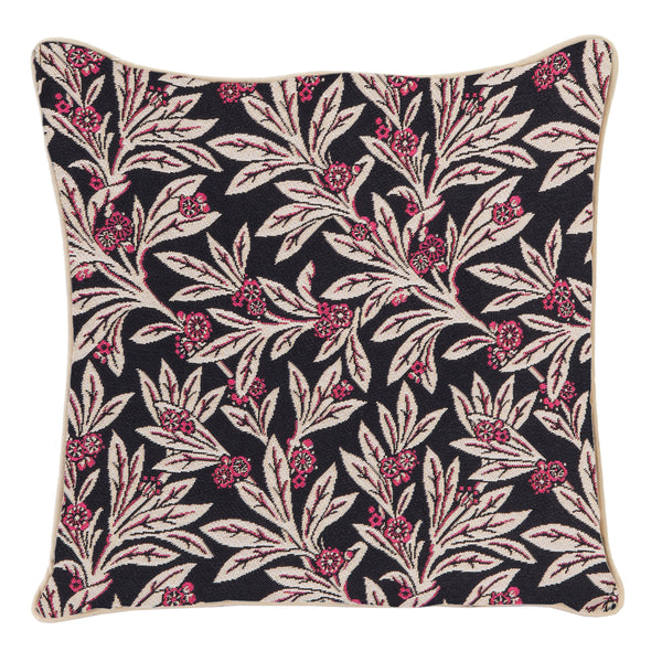 Golden Fern Tapestry Cushion Cover | Floral 18x18 Cushion Covers | CCOV-GFERN