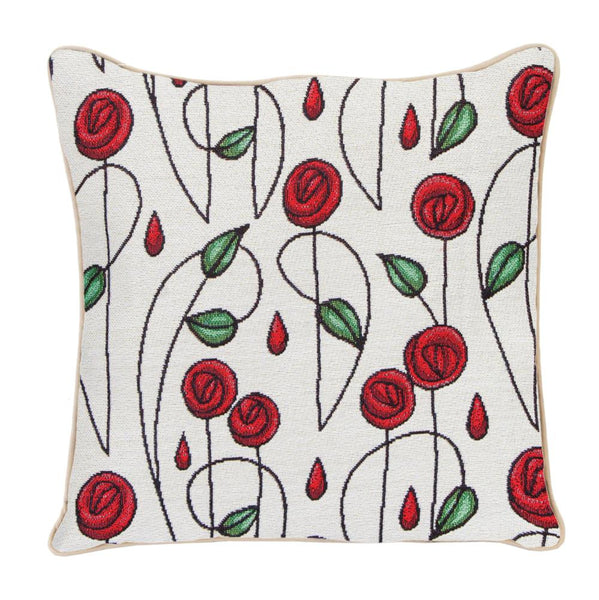 Mackintosh Rose Tapestry Cushion Cover | 18x18 Cushion Covers | CCOV-RMSP