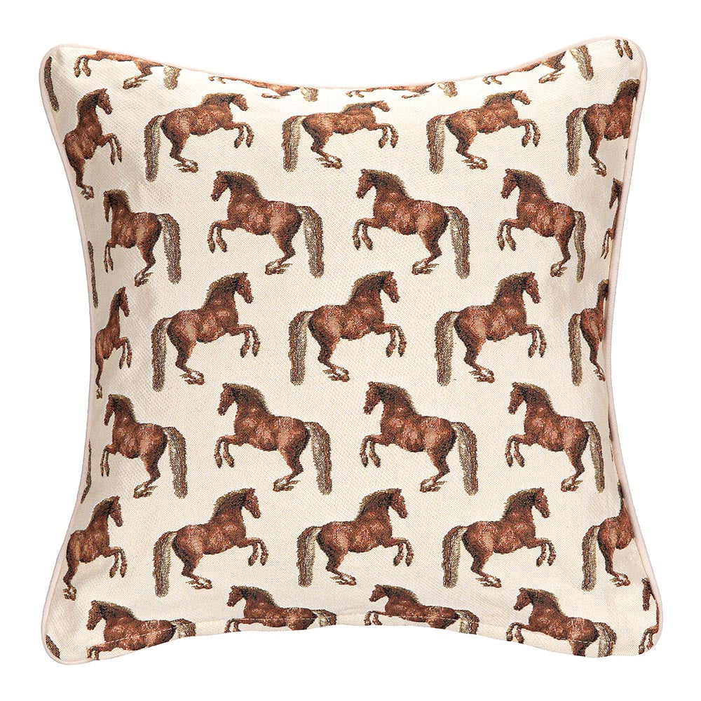 Whistlejacket Tapestry Cushion Cover | Horse 18x18 Cushion Covers | CCOV-WHISTLE