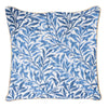 William Morris Willow Bough Cushion Cover | Blue Floral Cushion 18x18 cm | CCOV-WIOW