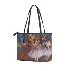 Edgar Degas Ballerina Shoulder Tote Bag | Tapestry Ladies Shoulder Bag | COLL-ART-ED-BLR-2
