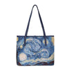 Vincent Van Gogh Artwork Shoulder Tote Bag | Starry Night Painting | COLL-ART-VG-STAR