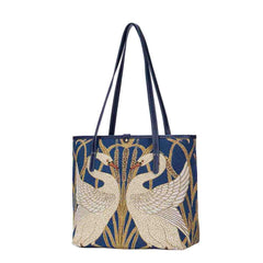 Walter Crane Artist Swan Shoulder Tote Bag | Art College Bag | COLL-ART-WC-SWAN