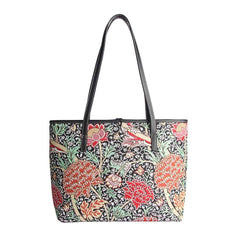 William Morris The Cray Shoulder Tote Bag | Tapestry Art Shoulder Bag | COLL-CRAY