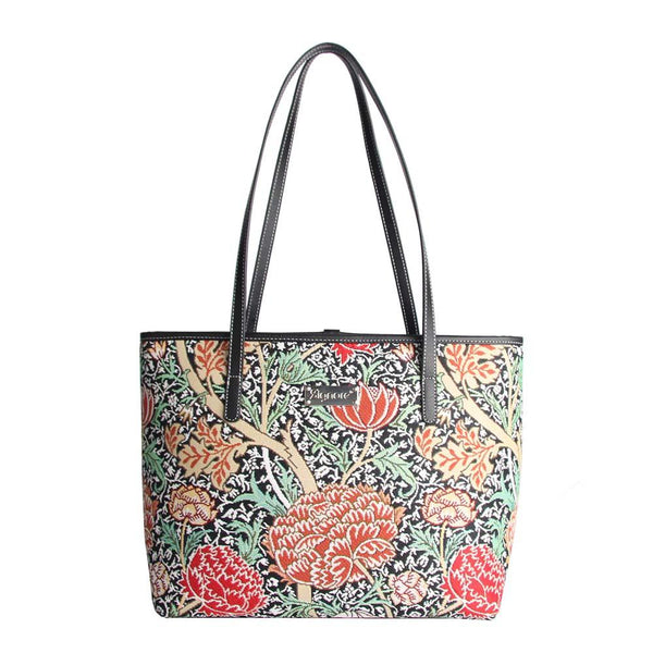 William Morris The Cray Shoulder Tote Bag | Designer Floral Fashion Shoulder Handbag | COLL-CRAY
