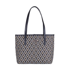 Luxor Shoulder Tote Bag | Art Deco College Bag | COLL-LUXOR