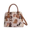 Cavalier King Charles Spaniel Top-Handle Shoulder Bag | Ladies Shoulder Bag | CONV-KGCS