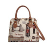 Royal Guard Top-Handle Shoulder Bag | London Tapestry Cross Shoulder Bag | CONV-RGD