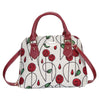 Mackintosh Rose Top-Handle Shoulder Bag | Tapestry Art Cross Shoulder Bag | CONV-RMSP