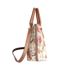 Robin Top-Handle Shoulder Bag | Tapestry Ladies Convertibe Bag | CONV-ROB