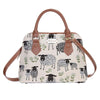 Spring Lamb Top-Handle Shoulder Bag | Shoulder Strap Fashion Branded Tote | CONV-SPLM