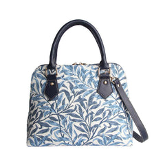 William Morris Willow Bough Top-Handle Shoulder Bag | Artist Floral Shoulder Handbag | CONV-WIOW