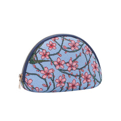 Almond Blossom and Swallow Cosmetic Bag | Tapestry Makeup Case | COSM-BLOS