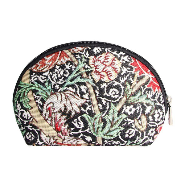 William Morris The Cray Cosmetic Bag | Floral Tapestry Art Makeup Case | COSM-CRAY