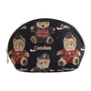London Bear Cosmetic Bag | Teddy Bear Womens Makeup Bag | COSM-LNBE