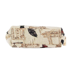 Miss London Cosmetic Bag | Tapestry Womens Makeup Bag  | COSM-MSLN