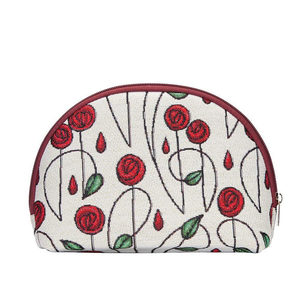 Mackintosh Simple Rose Cosmetic Bag | Floral Art Makeup Beauty Case | COSM-RMSP