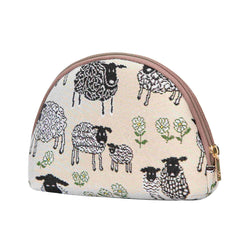 Spring Lamb Cosmetic Bag | Cute Tapestry Makeup Case | COSM-SPLM