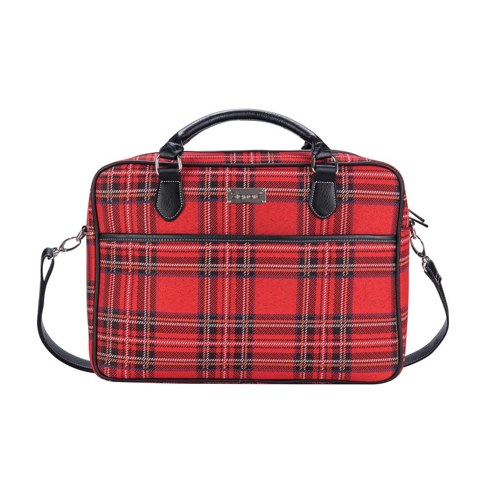 royal stewart tartan computer bag