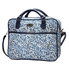 Willow Bough Computer Bag | Floral Tapestry Art Laptop Case 15.6 inch | CPU-WIOW