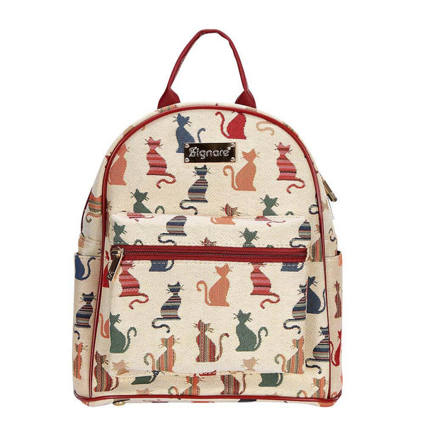 Cheeky Cat Casual Daypack | Tapestry Small Backpack for Women | DAPK-CHEKY