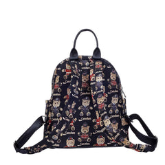 London Bear Casual Daypack | British Teddy Bear Womens Backpack | DAPK-LNBE