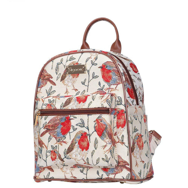 Robin Casual Daypack | Stylish Branded Tapestry Backpack Rucksack | DAPK-ROB