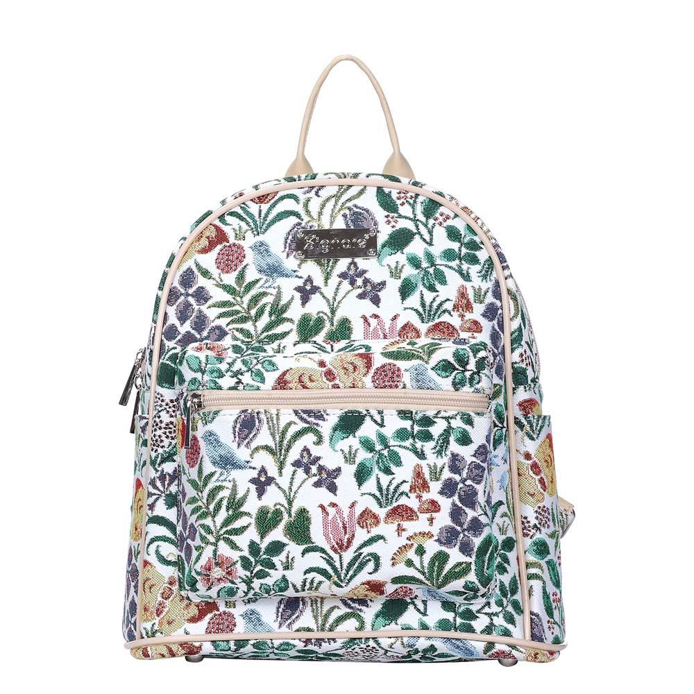 Spring Flowers Casual Daypack | Tapestry Small Backpack for Women | DAPK-SPFL