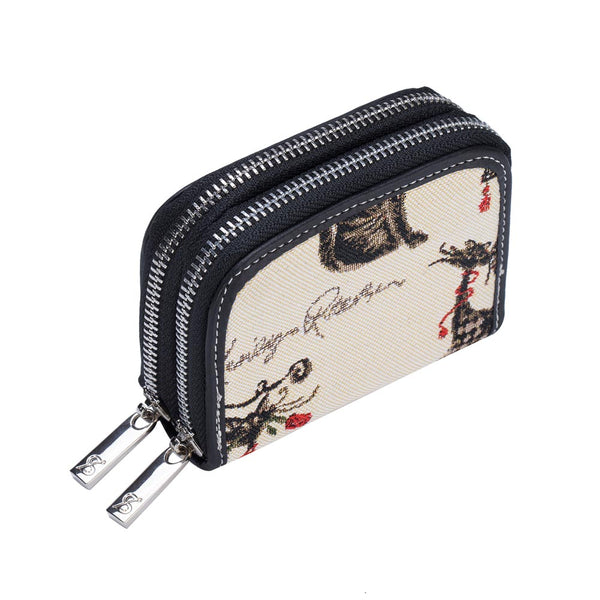Catitude Double Zip Purse | RFID Card Holder Purse | DZIP-CUDE