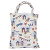 Beach Hut ECO Foldable Bag | Blue Canvas Tote Bag | ECO-BHUT