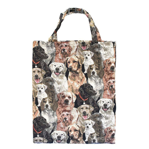 Labrador ECO Foldable Bag | Brown Foldable Reusable Shopping Bags | ECO-LAB