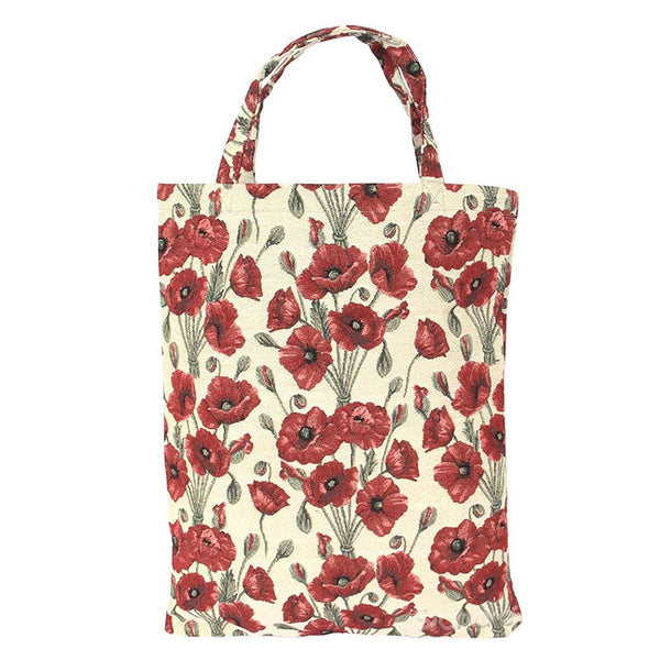 Poppy ECO Foldable Bag | Floral Canvas Tote Bag | ECO-POP