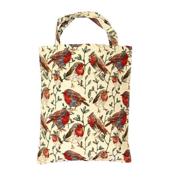 Robin ECO Foldable Bag | Reusable Go-Green Cloth Fabric Grocery Tote | ECO-ROB