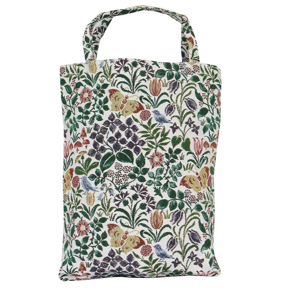 Spring Flowers ECO Foldable Bag | Floral Canvas Tote Bag | ECO-SPFL