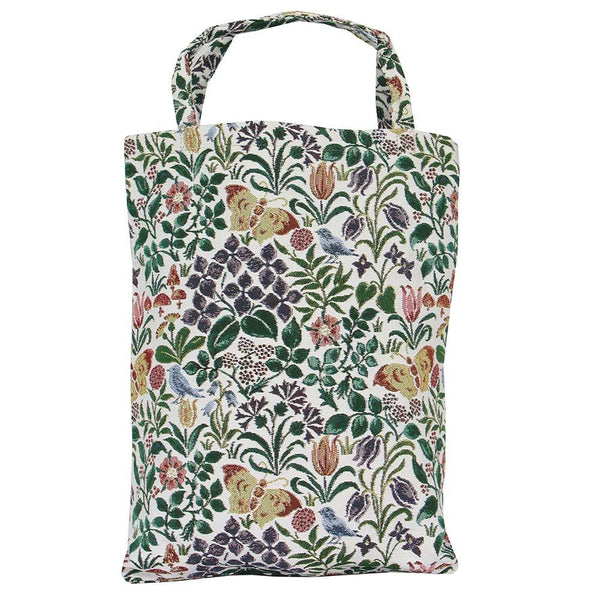 Spring Flowers ECO Foldable Bag | Floral Sustainable Fabric Go Green Grocery Tote | ECO-SPFL