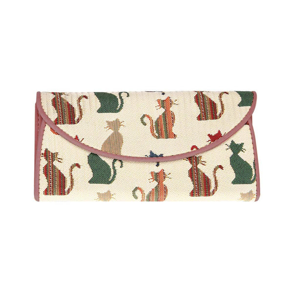 Cheeky Cat Envelope Purse | Ladies Envelope Wallet Purse  | ENVE-CHEKY