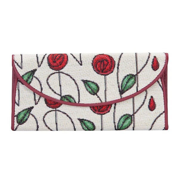 Mackintosh Rose Envelope Purse | Floral Tapestry Ladies Purse  | ENVE-RMSP